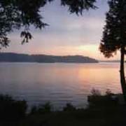 Lake Bonaparte from Muse Lodge